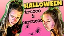 Halloween | Tutorial Trucco Parrucco Halloween | DIY ferita finta halloween lisafabiani