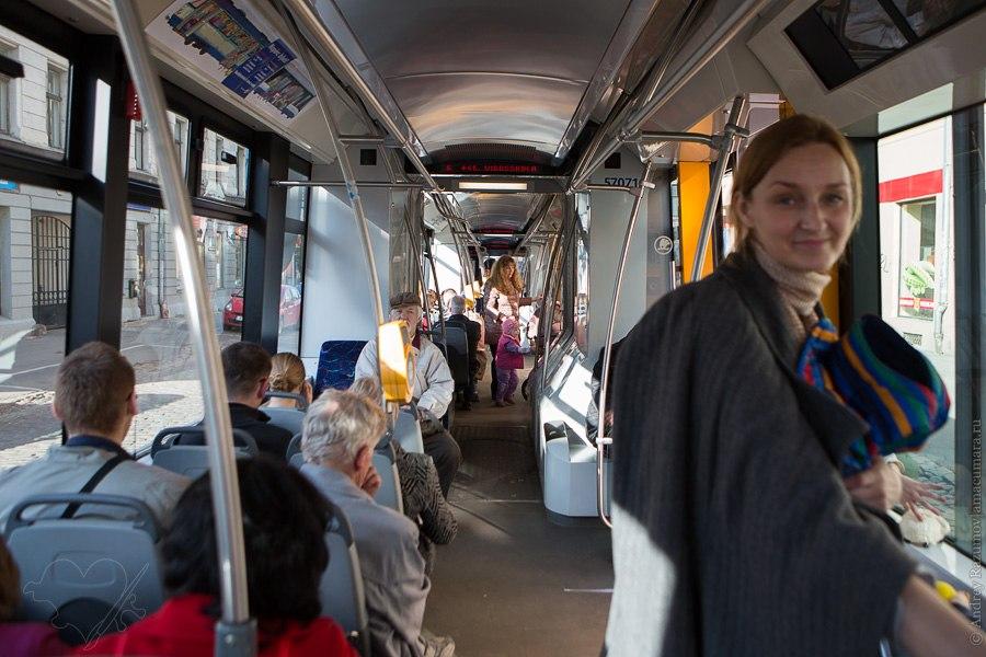 Трамвай в Риге тролейсбус городской транспорт на электротяге