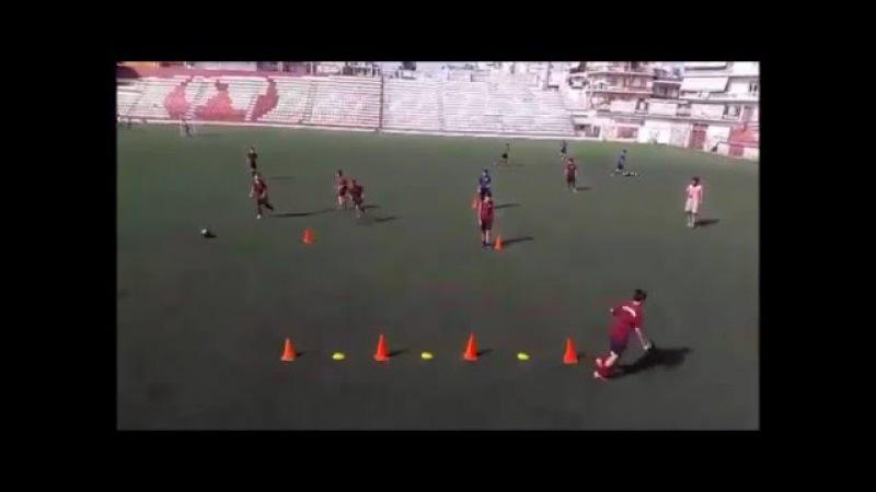 Pass Training - Tiki Taka by Aggelos Chortsas