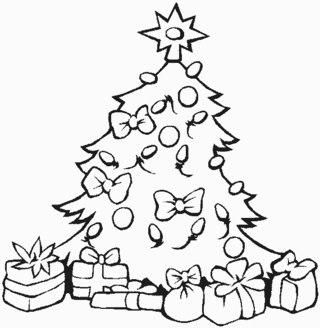 Для детей новогодние отрисовки для