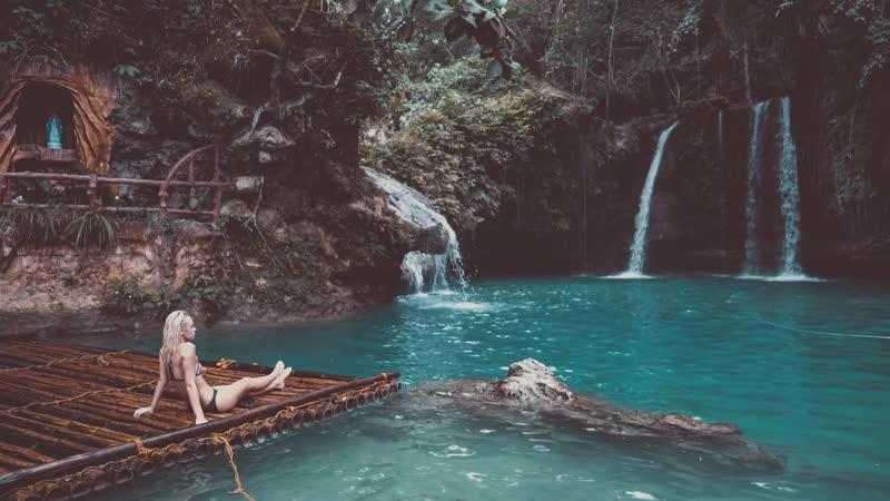 Красавица - Водопад Кавасан Филиппины / Belle - Kawasan Falls Phlilippines