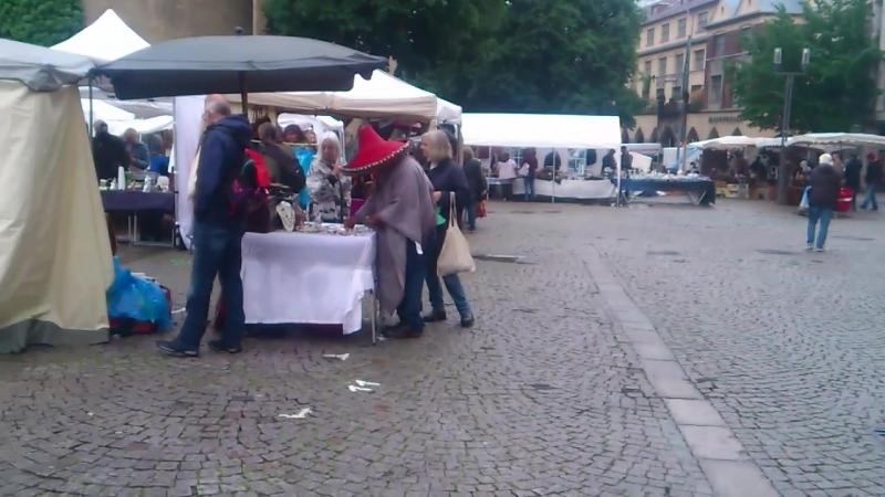 Блошиный рынок в Штутгарте
