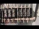 Подключение испытательной коробки КИП Схема 1