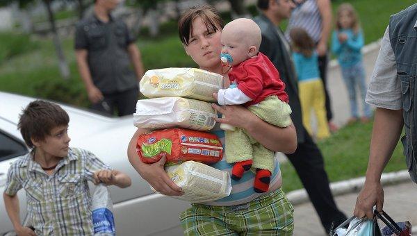 Беженцы из Украины в Таганроге остро нуждаются в помощи