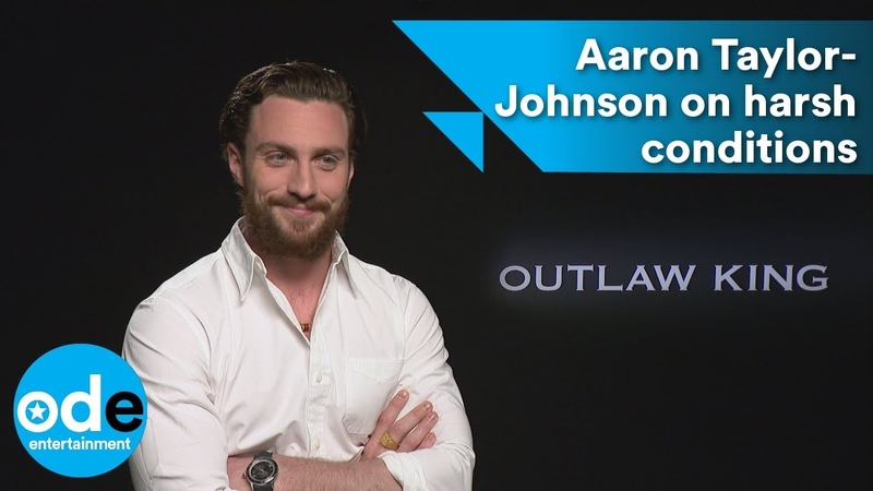 Aaron Taylor-Johnson on Outlaw King's harsh conditions