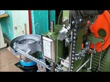 Tarpaulin Fully Automatic Eyelet Machine Holing and Fixing At One Action