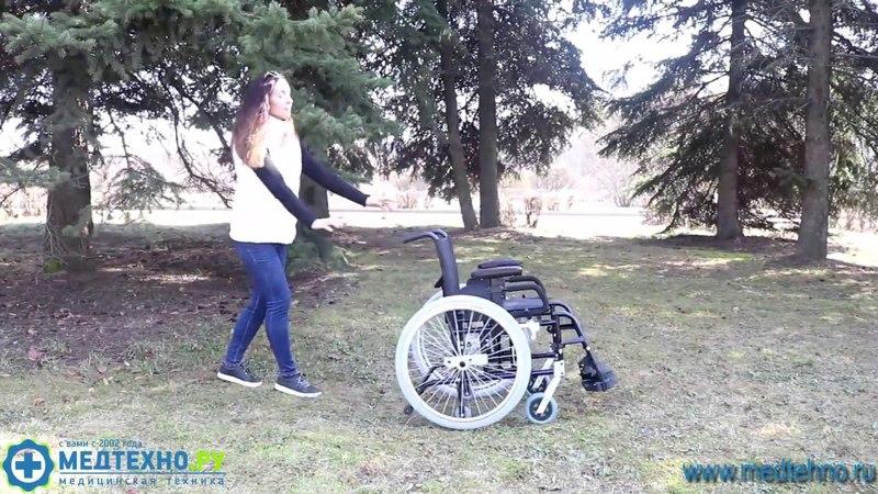 Кресло коляска инвалидная Barry A7 T 7018 A0603SP T обзор от