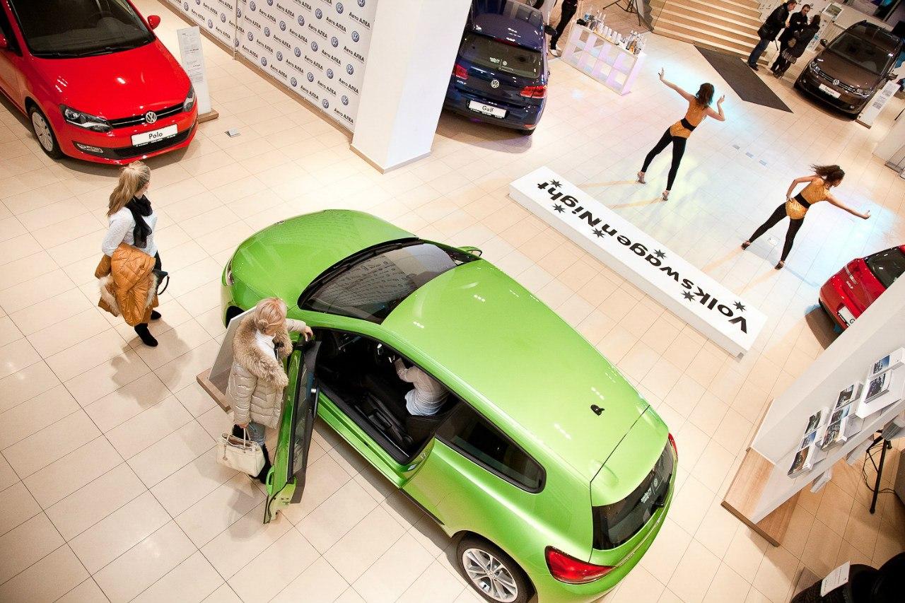 Вечеринка VW Авто АЛЕА