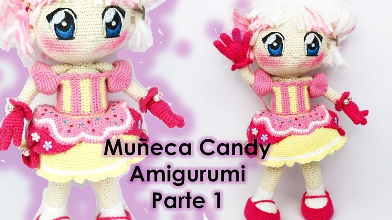 Muñeca Candy, amigurumi (1/5) (English Subtitles)