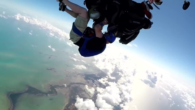 Skydiving over the Bahamas - everyone must try this