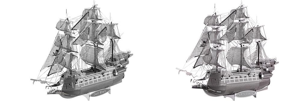 Конструктор Piececool Корабль Летучий голландец 70077