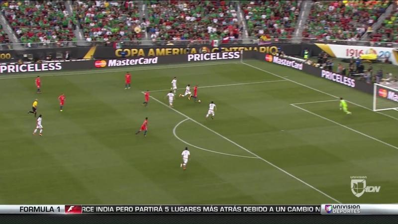 Chile humilló a México y lo sacó de la Copa América con un 7-0 aplastante - YouTube