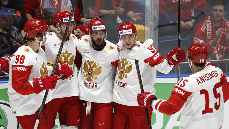 Россия победила Латвию на ЧМ по хоккею-2019 (Видео)