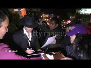 Nikki Reed Ian Somerhalder leave Cadillac's pre-Oscar Party at Chateau Marmont in West Hollywood
