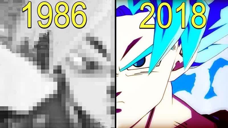 Эволюция игр Жемчуг дракона / Dragon Ball Games Evolution (1986-2018)