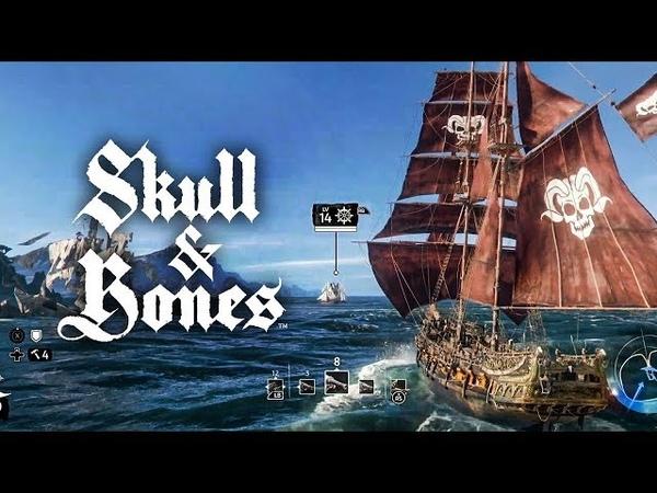 SKULL AND BONES - GAMEPLAY EXCLUSIVA DA E3! O DEV DO JOGO BATEU PALMAS PRA MIM!