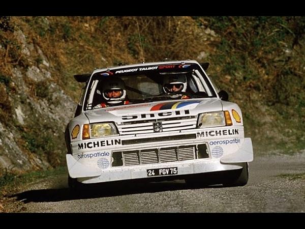 Peugeot 205 Turbo 16 E1 E2 Rally Group B Total Tribute