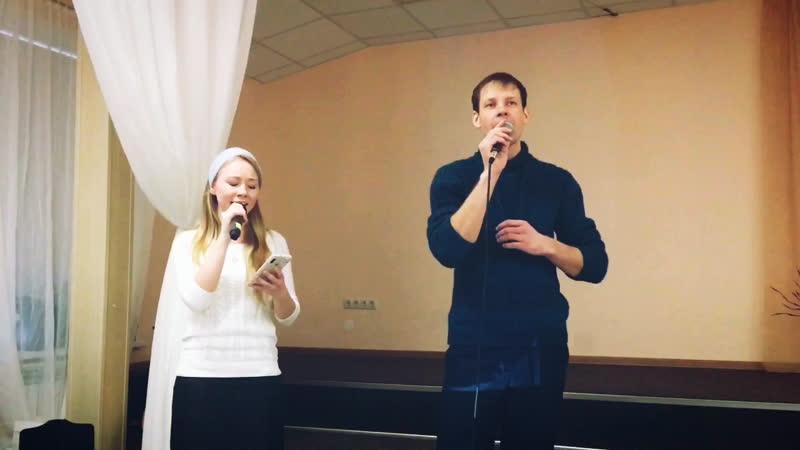 Виталий Хотько и Ирина Южанина