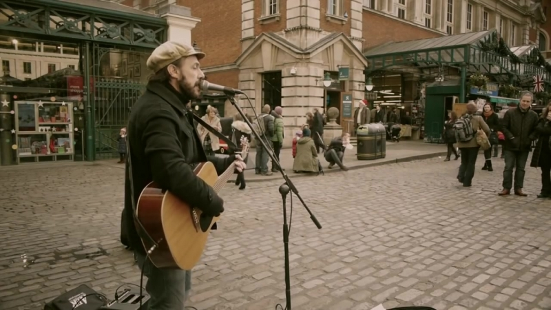 Falling Slowly cover Rob Falsini busking day and night in Covent Garden