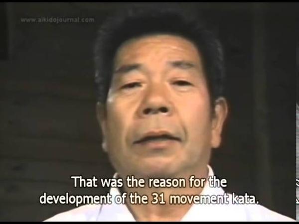31 Jo Kata 13 Jo Awase Kata by Morihiro Saito Sensei