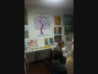 Уроки живописи в студии