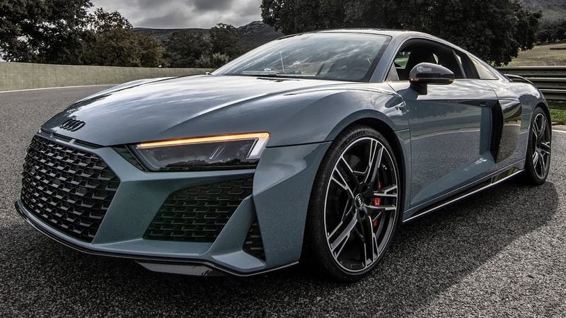 BEAST! New 2019/20 AUDI R8 V10 PERFORMANCE - 620HP/V10/NA KEMORA GRAY - New car, color and optics