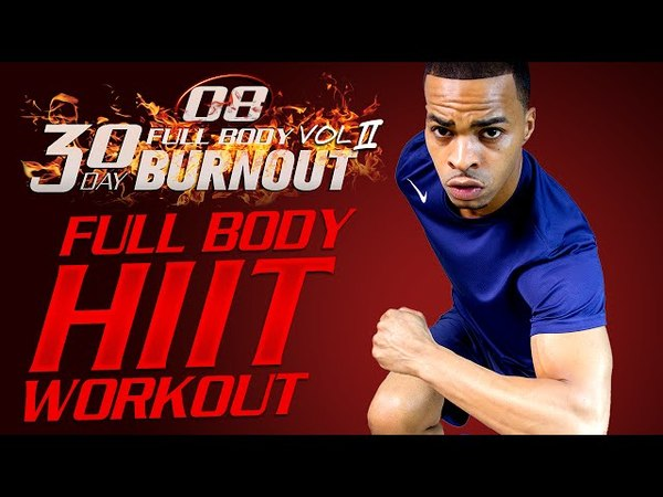 45 Min. Total Body Abs Bodyweight HIT Workout | Day 08 - 30 Day Full Body Burnout Vol. 2