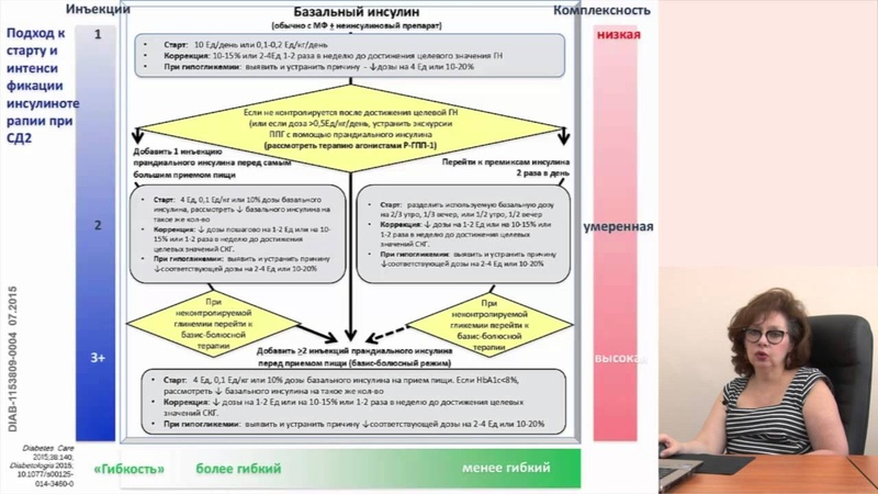 Петунина Н.А. Инсулинотерапия в комбинации с ингибиторами ДПП