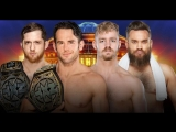 The Undisputed ERA (Kyle O'Reilly , Roderick Strong) vs Moustache Mountain(Trent Seven , Tyler Bate)
