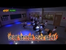 Hyukjaes on Knowing Brothers next week 180714 Dance God Dance Kings version! ft. Taemi