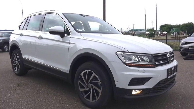 2018 Volkswagen Tiguan 2.0 TDI DSG 4Motion. Start Up, Engine, and In Depth Tour.