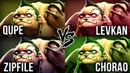 Qupe vs Levkan vs Zipfile vs Chorao - WHO IS THE BEST PUDGE SPAMMER IN 7.20 Patch - Dota 2