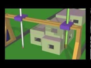Строительство с помощь технологии Contour Crafting