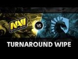 Turnaround wipe by Na`Vi vs Liquid @ The International 2014