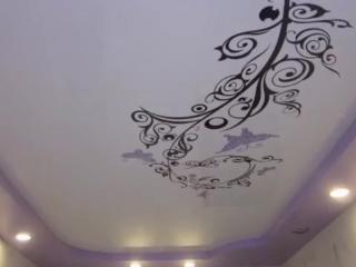 Натяжные потолки в гостиной – идеи и варианты дизайна