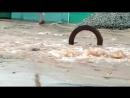 Гейзер с нечистотами на Короленко
