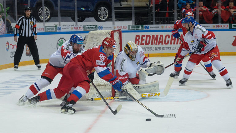 Россия разгромила Чехию на Кубке Первого канала (Видео)
