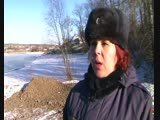 МЧС предупреждает тонкий лёд.