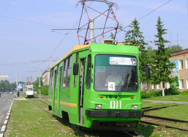 Трамваи ЛМ-99 работают в