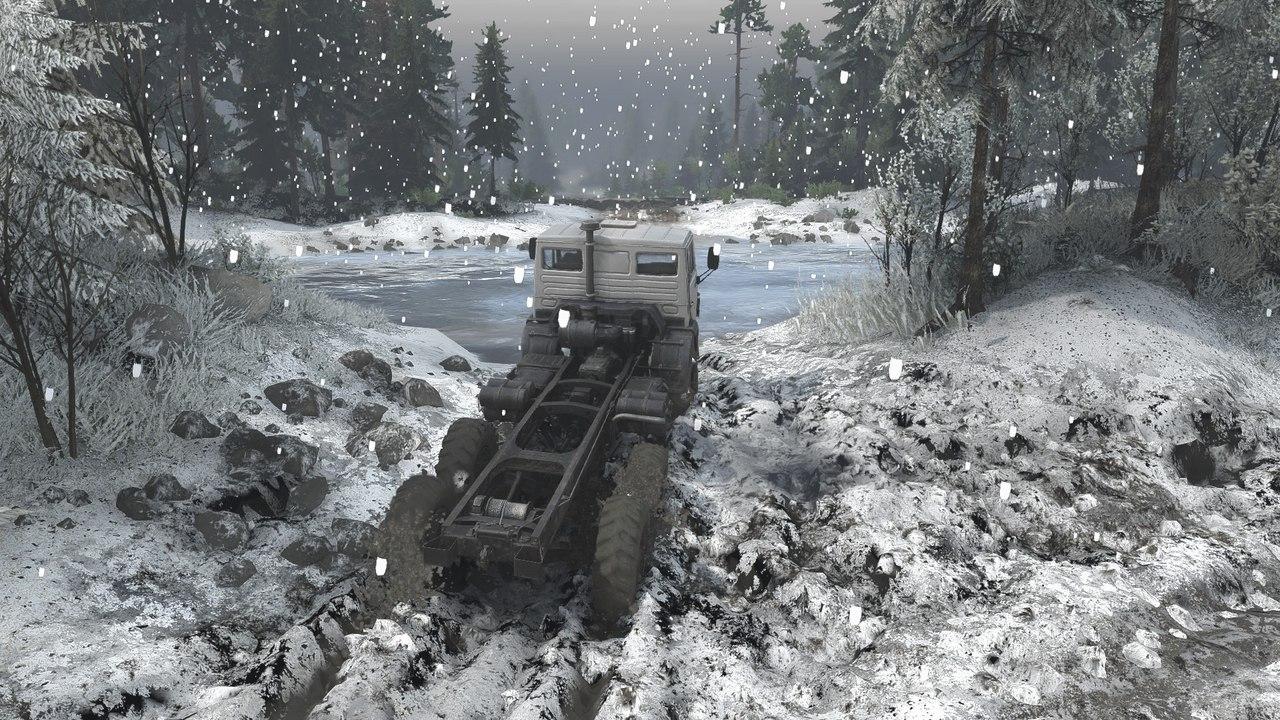 """Мод """"Первый снег"""" для 16.12.15 для Spintires - Скриншот 3"""