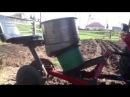 Картофелесажалка к минитрактору