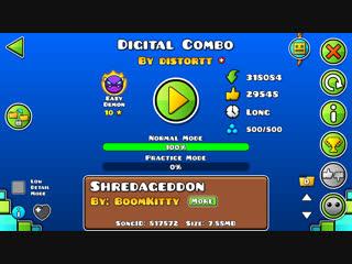 Geometry Dash-Digital Combo By Distortt
