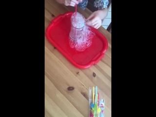 Dish Drops и мыльные пузыри с детками mp4