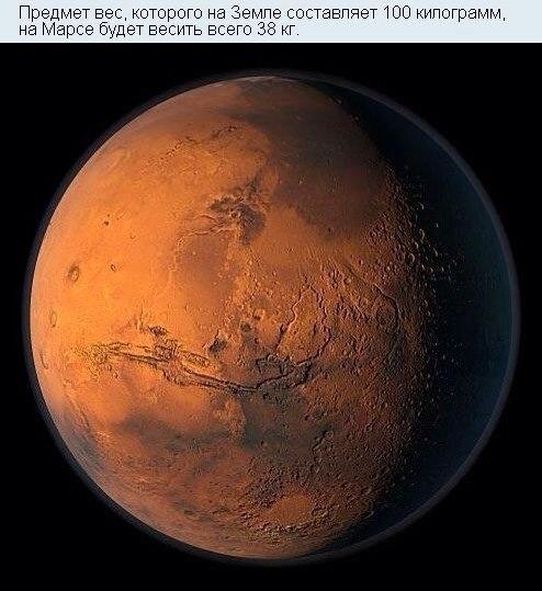 Интересные и неожиданные факты о космосе