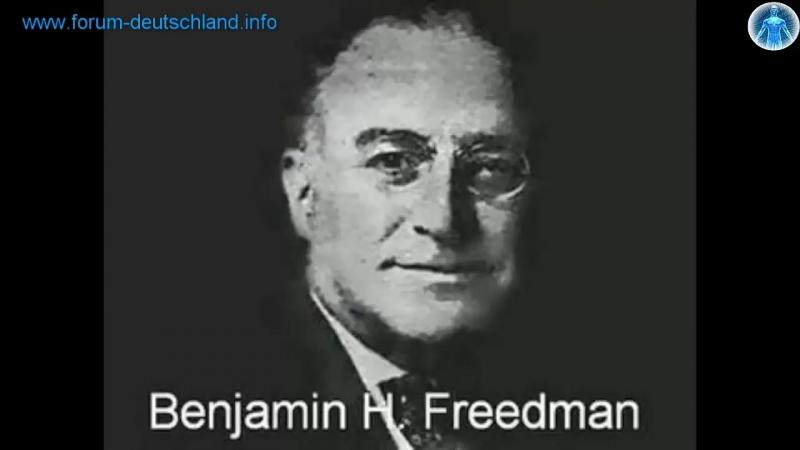 Aufarbeitung der Geschichte Deutsche Soldaten Rede Benjamin Freedman 1961