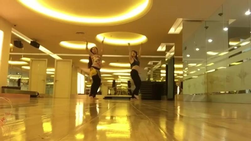 Thanh Tô Belly dance - Choreography for Beginner - Múa bụng cho người mới học 24542