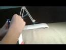 Гидравлический манипулятор-художник