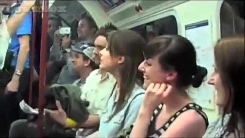 Swingle Singers underground tube subway