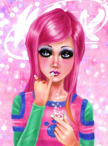 """Фанфик для WINX """"зеркало Оливии"""" 1 +игра для девочек и арты!"""