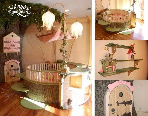 Детская спальная комната в стиле мультфильнов Дисней… (10 фото) - картинка